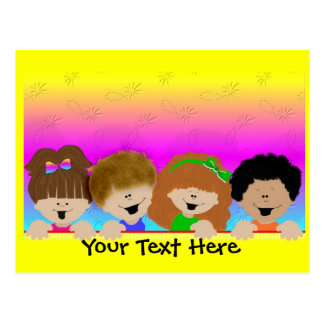 Rainbow Kids Daycare Postcard