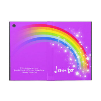 Rainbow kids girls name ipad mini powis case cover for iPad mini
