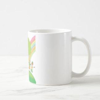 Rainbow kids coffee mug