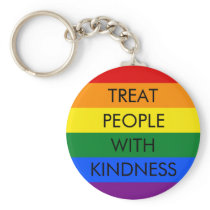Rainbow Kindness Keychain