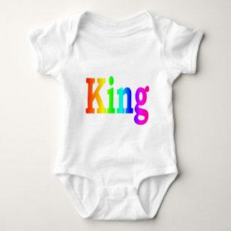 Rainbow King Baby Bodysuit