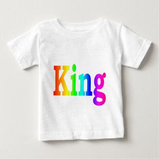 Rainbow King Baby T-Shirt