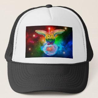 Rainbow Kitten Unicorn Gold  Fish Space Buddies Trucker Hat
