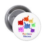 Rainbow kittens! button