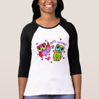 Rainbow kitties with eyes as big as picnic baskets T-Shirt