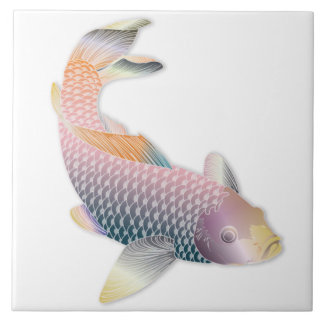 Rainbow Koi Fish Trivet