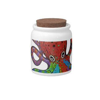 Rainbow Kraken ! Candy Jar