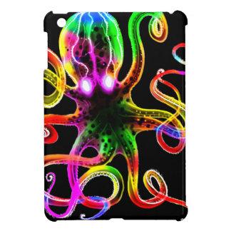 Rainbow Kraken Glow iPad Mini Cover