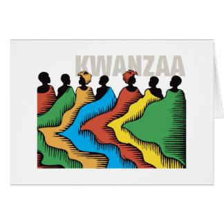 Rainbow Kwanzaa Holiday Notecards Stationery Note Card