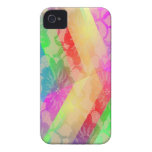 Rainbow Lace Roses iPhone 4 Covers