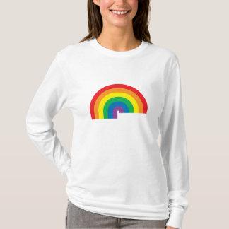 Rainbow Ladies AA Hoody Long Sleeve (Fitted)