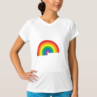 Rainbow Ladies Performance Micro-Fiber Sleeveless T-Shirt