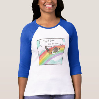 Rainbow Lady Baseball Tee