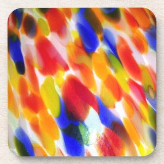 Rainbow Lamp Shade Drink Coaster