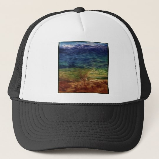 Rainbow Landscape Trucker Hat