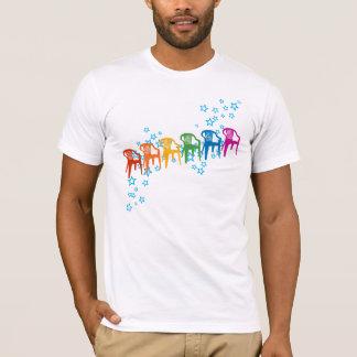 Rainbow Lawn Chairs T-Shirt
