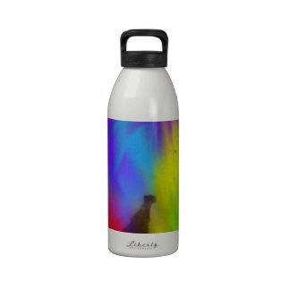 Rainbow leaf drinking bottles