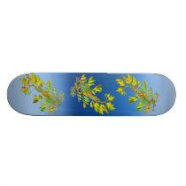 Rainbow Leafy Sea Dragon Seahorse Skateboard