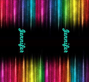 5863954b3758 Rainbow Leggings Your Name Women's Exercise Pants