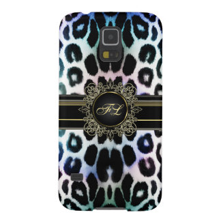 Rainbow Leopard Personalize Samsung Galaxy S5 Case