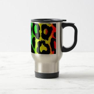 rainbow_leopard_print-altered travel mug
