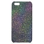 rainbow leopard print iphone 5 case
