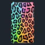 "rainbow leopard print ipod touch case<br><div class=""desc"">This item is made with a rainbow colored leopard print texture.</div>"