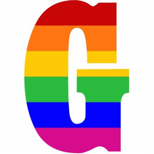 Rainbow Letter G Photo Sculpture Zazzle