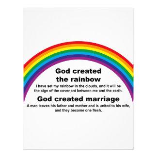 Rainbow Letterhead