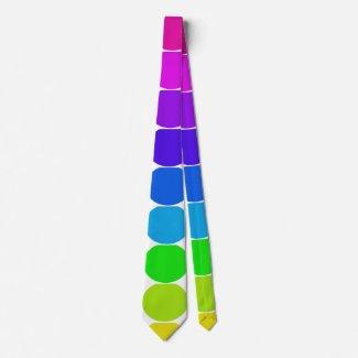 Rainbow LGBT Diversity Gay Pride CricketDiane Neck Tie