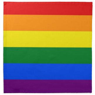 Rainbow LGBT Flag on MoJo Napkin