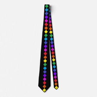 Rainbow LGBT Gay Pride Diversity CricketDiane Tie
