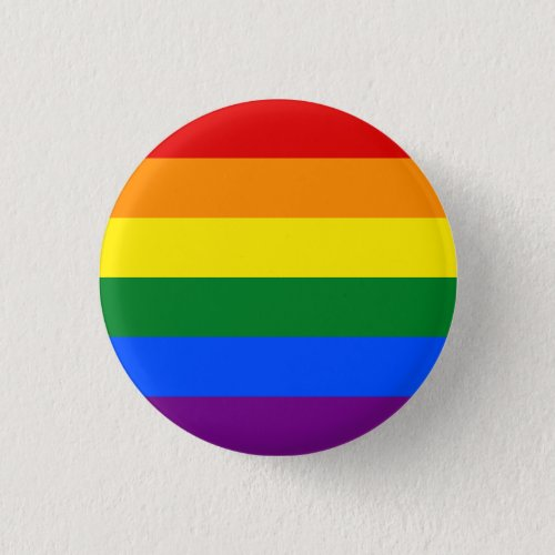 Rainbow LGBTQ Pride Button