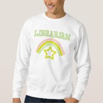 Rainbow Librarian Basic Sweatshirt