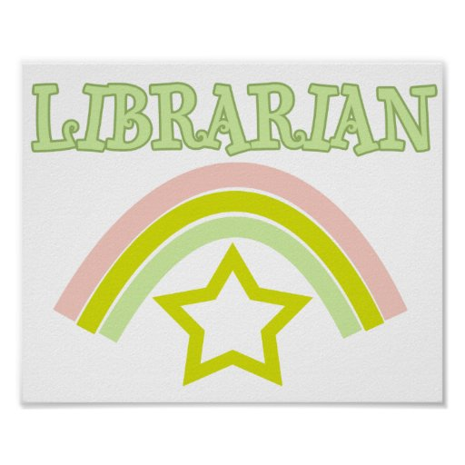 Rainbow Librarian Posters