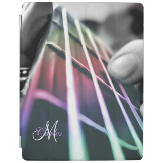 Rainbow Light Bass Guitar Personalized iPad Case iPad Cover