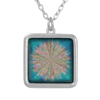 Rainbow Lightning on Fire Necklace