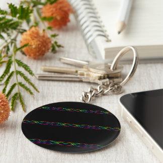 Rainbow Lights Keychain