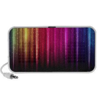 Rainbow Lights Mp3 Speakers
