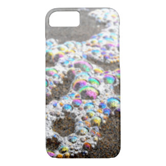 Rainbow Like Glittering Sea Foam iPhone 7 Case