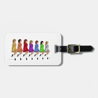 Rainbow Line Tag For Luggage