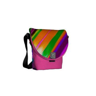Rainbow Lines Messenger Bag