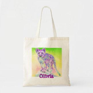 rainbow lion cub bag