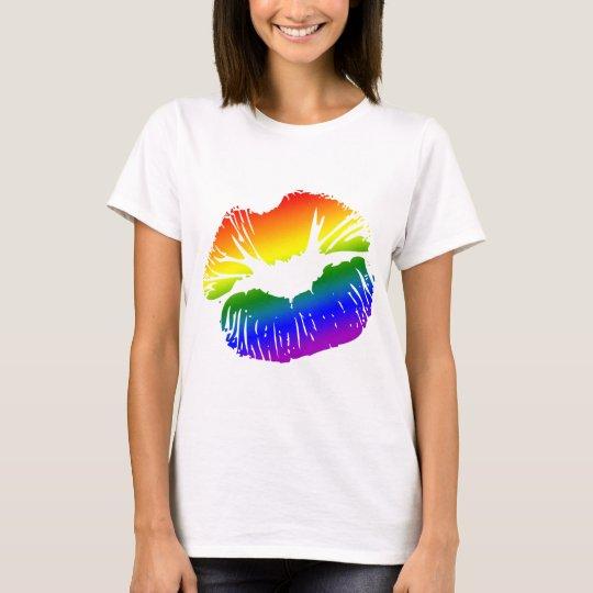 Rainbow Lips 1 T-Shirt