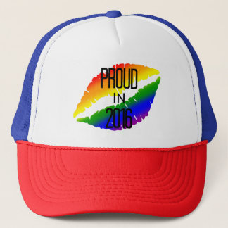 Rainbow Lips Pride 2016 Trucker Hat