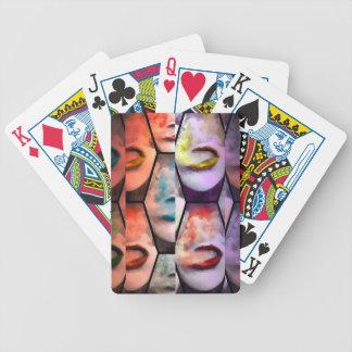 Rainbow Lips Vape Bicycle Playing Cards