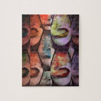 Rainbow  Lips Vape Puzzle