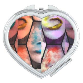 Rainbow Lips Vape Vanity Mirror