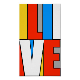 Rainbow Live Poster