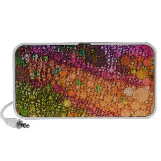 Rainbow Lizard Abstract Mp3 Speaker